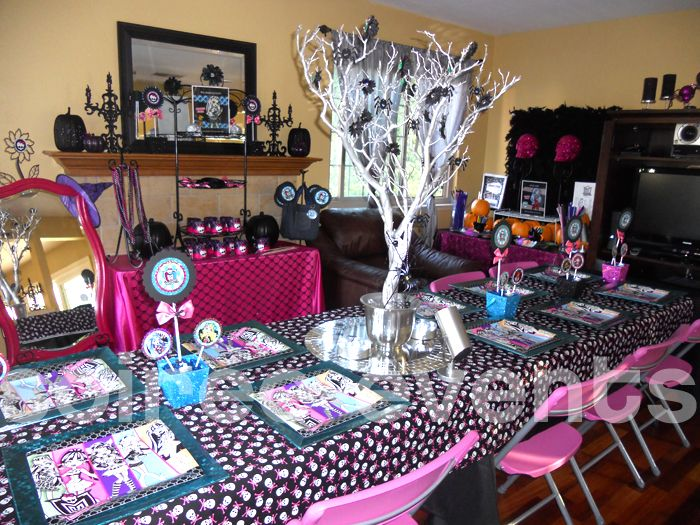 Monster High Halloween Soireé