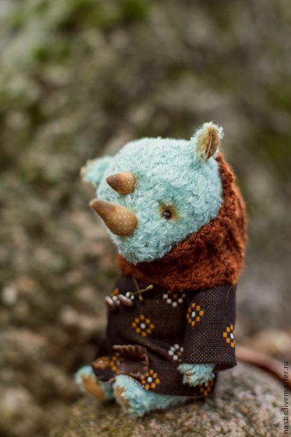 Тедди игрушка Носорог
