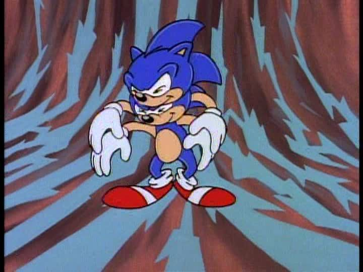 """Adventures of Sonic the Hedgehog - Lovesick Sonic"" (1993) Sonic, DIC Entertainment"