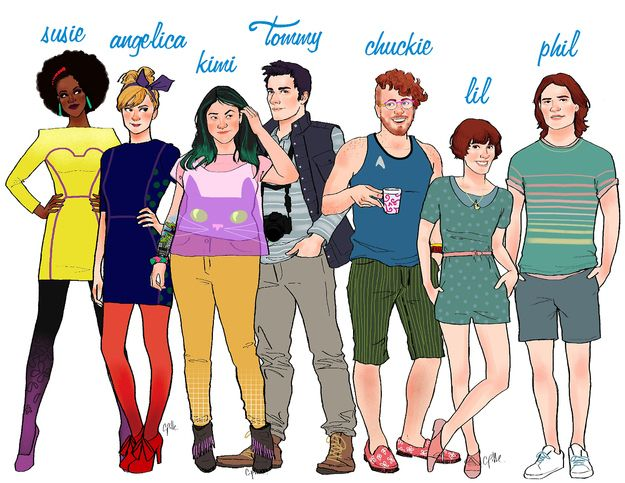 17 Cartoon Characters Drawn as Adults