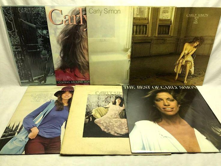 #Carly #Simon Vinyl #Record Lot Best Of Secrets Hotcakes Coming Around Anticipation