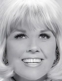 Doris Day, What a beautiful face & smile!