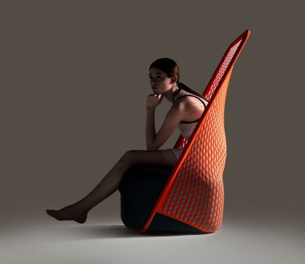Knitted Furniture Inspired By Footwear Technology