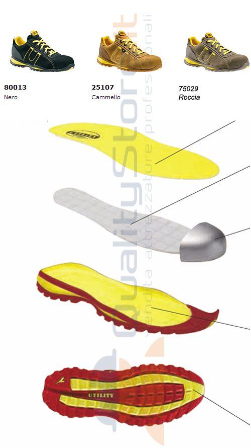 Diadora Active Glove scamosciata