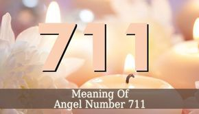 Angel Number 711 is a sign that news are coming your way. But it also signifies new opportunities or change. This number is linked to your spirituality.