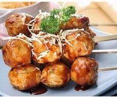 Resep Sate Bakso Bumbu Manis | Daftar Resep-Resep Masakan Indonesia