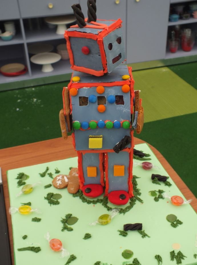 Jonathan's Gingerbread Robot is sure to satisfy the young and young at heart :)