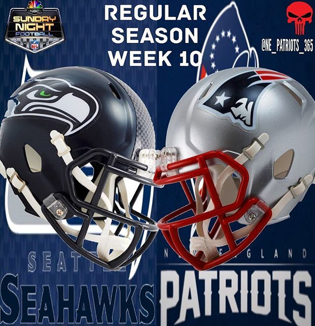 GAME DAY!!! THE PATS ARE TAKING ON THE SEAHAWKS IN FOXBORO TONIGHT ON SUNDAY NIGHT FOOTBALL!!! #patriots#patsnation#patriotsnation#gopats#newenglandpatriots#tombrady#newengland#tombradyisthegoat#blountforce#isupportbrady#pats#gronk#gronkspike#destroythemalltour