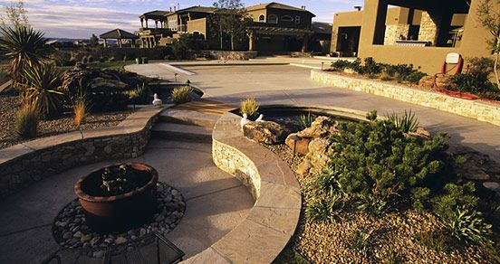 Residential Landscaping Albuquerque : Best images about favorite places spaces on backyards