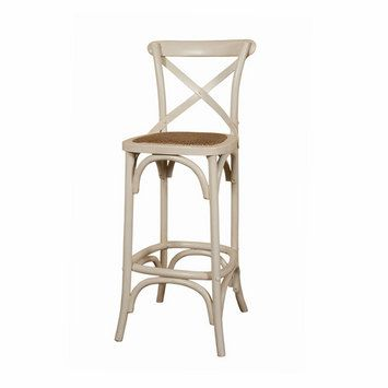 French Country Crossback Bar Stool French Provincial Style In Sydney Australia Furniture