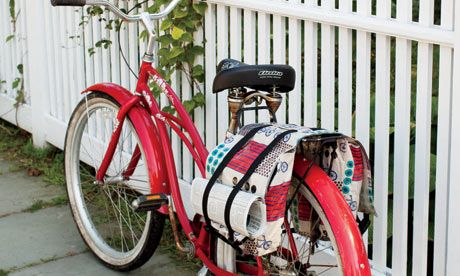 Learn to Sew Bicycle Bags!  a free tutorial by Rebecca Yaker and Patricia Hoskins