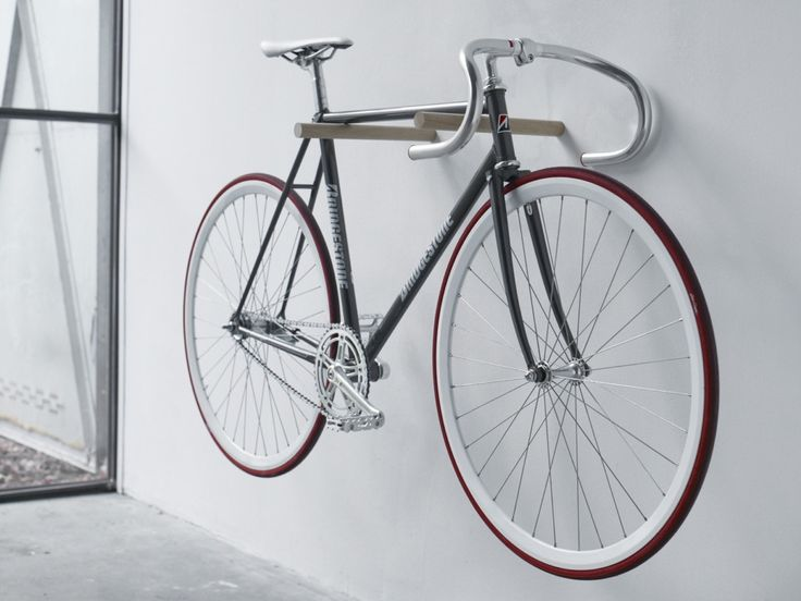 Bike Hook is bicycle storage reduced to a bare but beautiful minimum