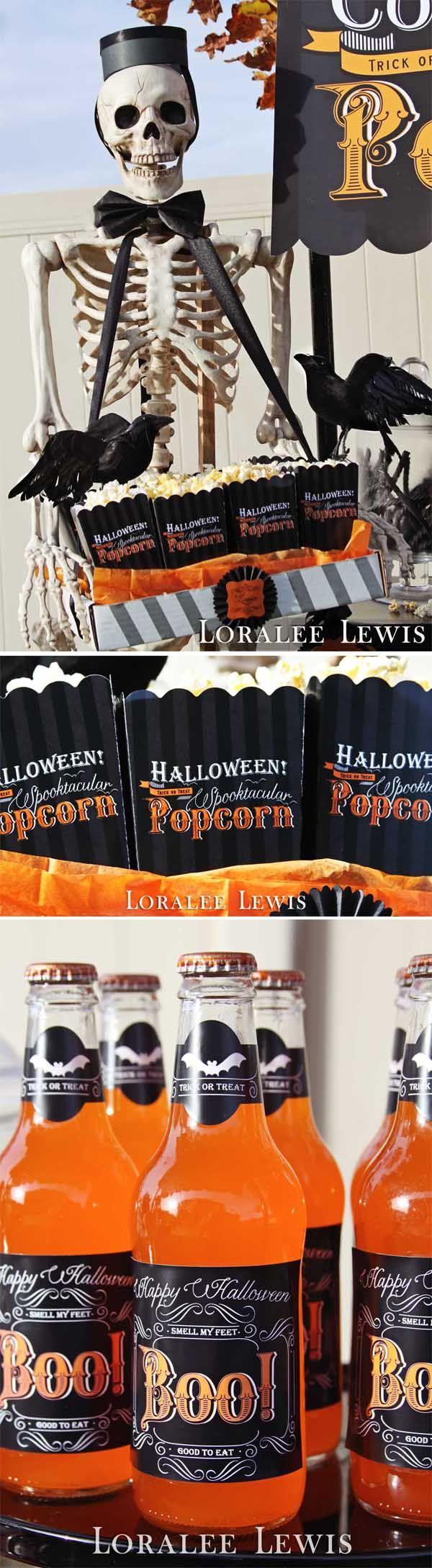 Loralee Lewis Halloween Drive-In Movie Night, www.LoraleeLewis.com