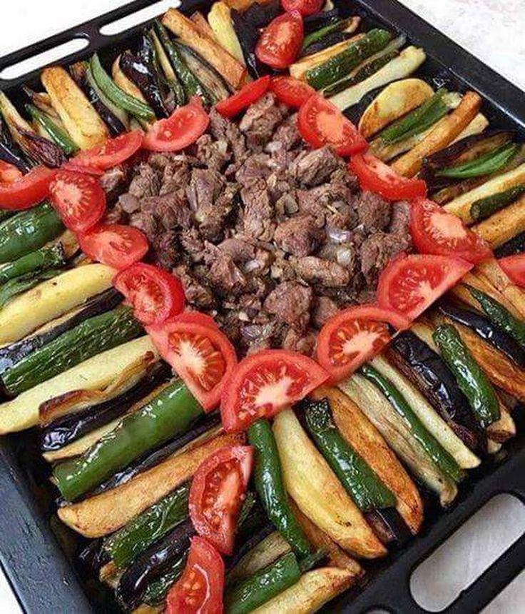 PARMAK KEBABI TARİFİ Malzemeler 300 gram kadar dana kuşbaşı et 3 adet orta boy patlıcan 4-5 adet patates 5 adet yeşil biber 2-3 adet domates 1 adet kuru... - yahsi mutfak - Google+