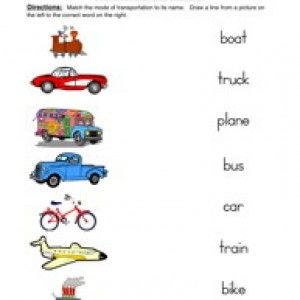 free transportation worksheet for grade 1 with transportation worksheets activity a. Black Bedroom Furniture Sets. Home Design Ideas