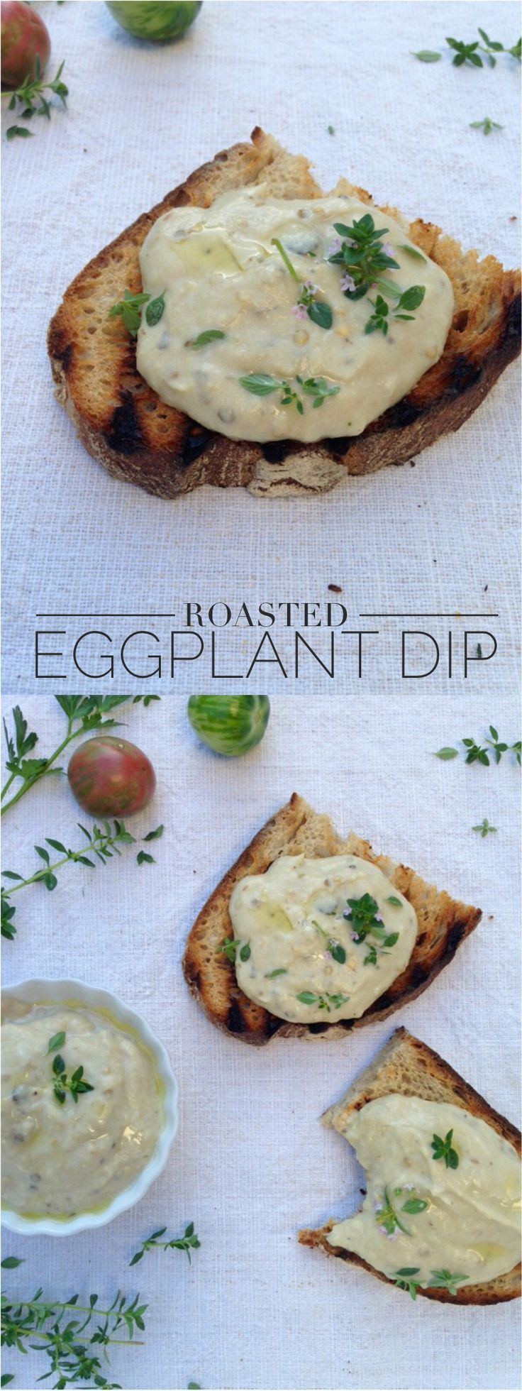 kitchen boss eggplant caponata%0A Roasted Eggplant Dip Recipe or Salata de Vinete