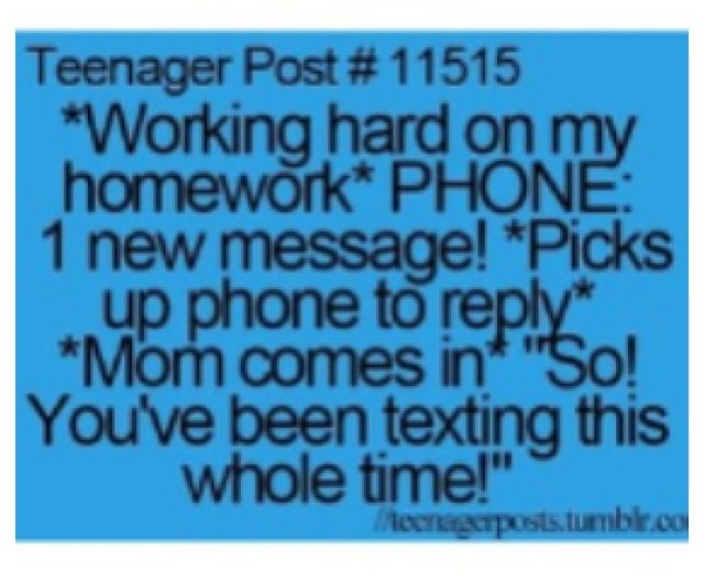 This is exactly how everything work related works for the 2 seconds you stop doing what your supposed to your mom walks in