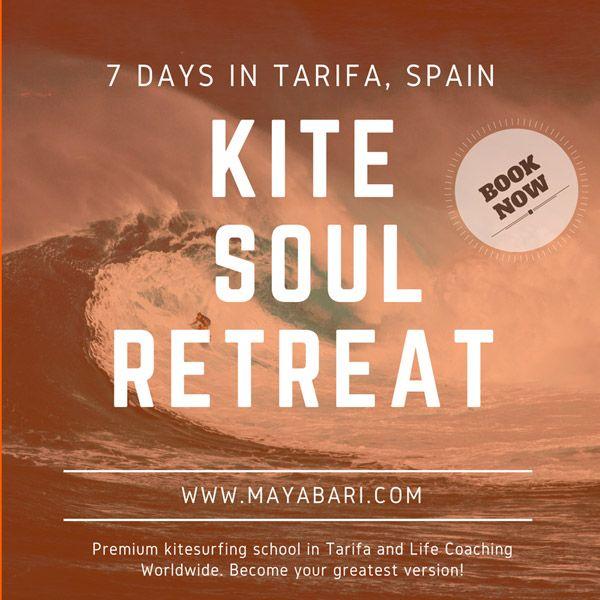 #kite #retreat #soul #tarifa #kiteschool #lifecoaching #freedom #awakening #spirituality #mayabari #spain #Andalucia #kiteboarding