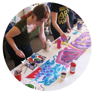 M.A. in Art Therapy/Counseling | The Master's program in Art Therapy / Counseling emphasizes the use of the visual arts as a therapeutic approach in clinical, educational, community and rehabilitation settings.