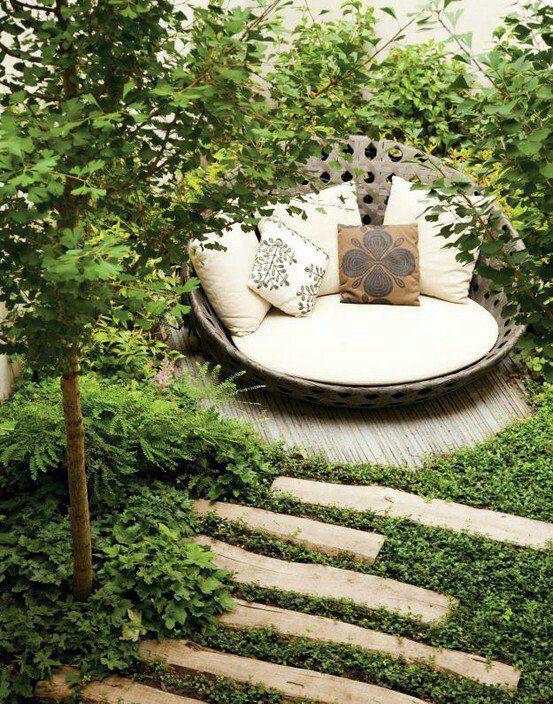 Garden Reading Area