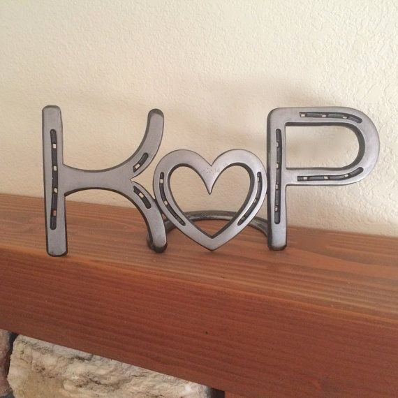 Very Thoughtful Gift With Horseshoe Initials And Can Be Engraved Your Wedding Or Anniversary Date