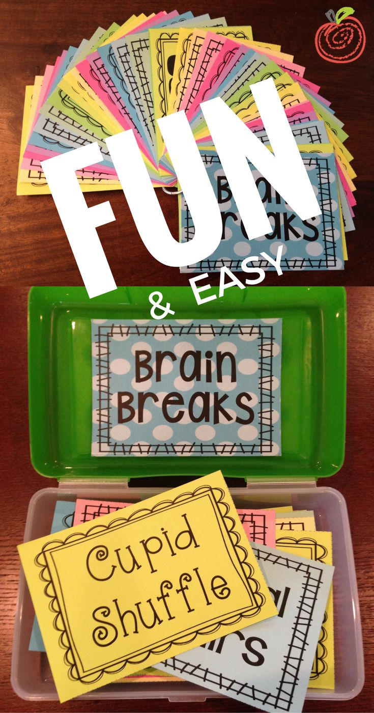 Fun and easy brain break to give students a break from learning and do a quick little activity!