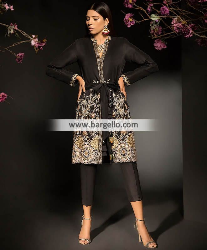 Latest Pakistani Evening Party Dresses