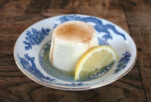 Yoghurtcitroenpannacotta