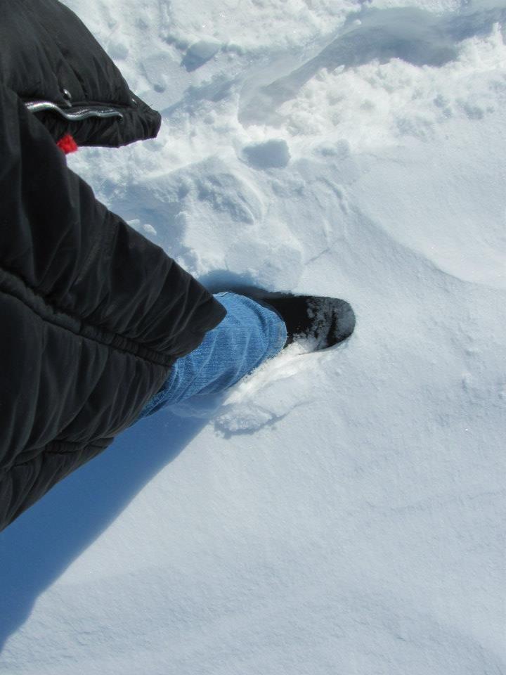 A Militza F. Souza nos enviou esta incrível foto usando a sua bota forrada em lã para neve da FIERO a -16ºC, deixando seus pés aquecidos e protegidos do frio. #SouFiero