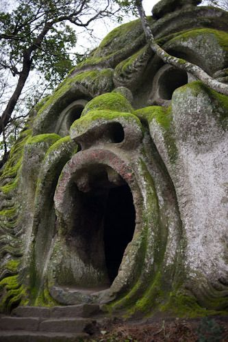 Bomarzo Garden, Italy