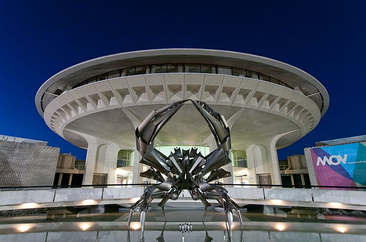 Museum of Vancouver at night #blurrdMEDIA #Architecture #Photography