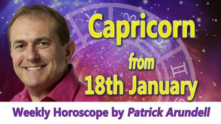 Capricorn Weekly Horoscope from 18th January 2016