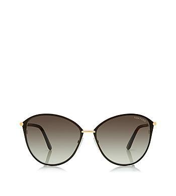 Penelope Vintage Round Sunglasses