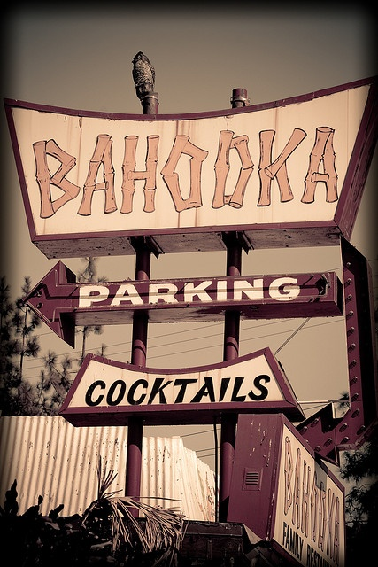 Bahooka, Rosemead, California. Closing March 10, 2013. We were able to visit this place several times before it closed