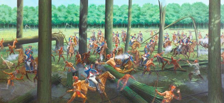 Bitwa pod zaporą z pni (ang. Battle of Fallen Timbers) – klęska zadana 20 sierpnia 1794 roku w Ohio sprzymierzonym z Brytyjczykami oddziałom Indian przez wojska amerykańskie pod dowództwem gen. Anthony'ego Wayne'a, kończąca wojnę z Indianami Północnego Zachodu.