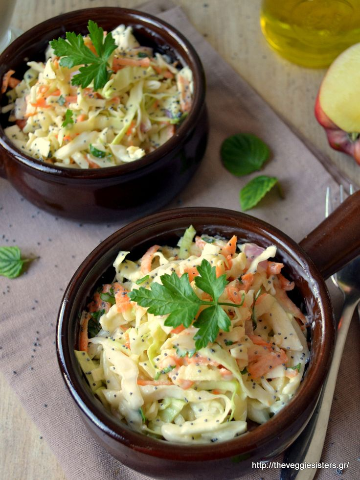 coleslaw salad:yummy and nutritious!