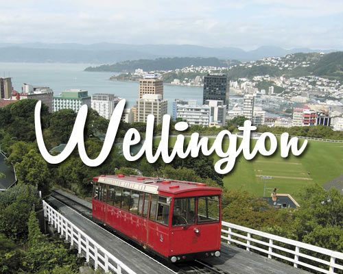 Make sure you visit the coolest little capital in the world Wellington on your NZ holiday! #nz #Wellington #holiday #fun #JustNewZealand