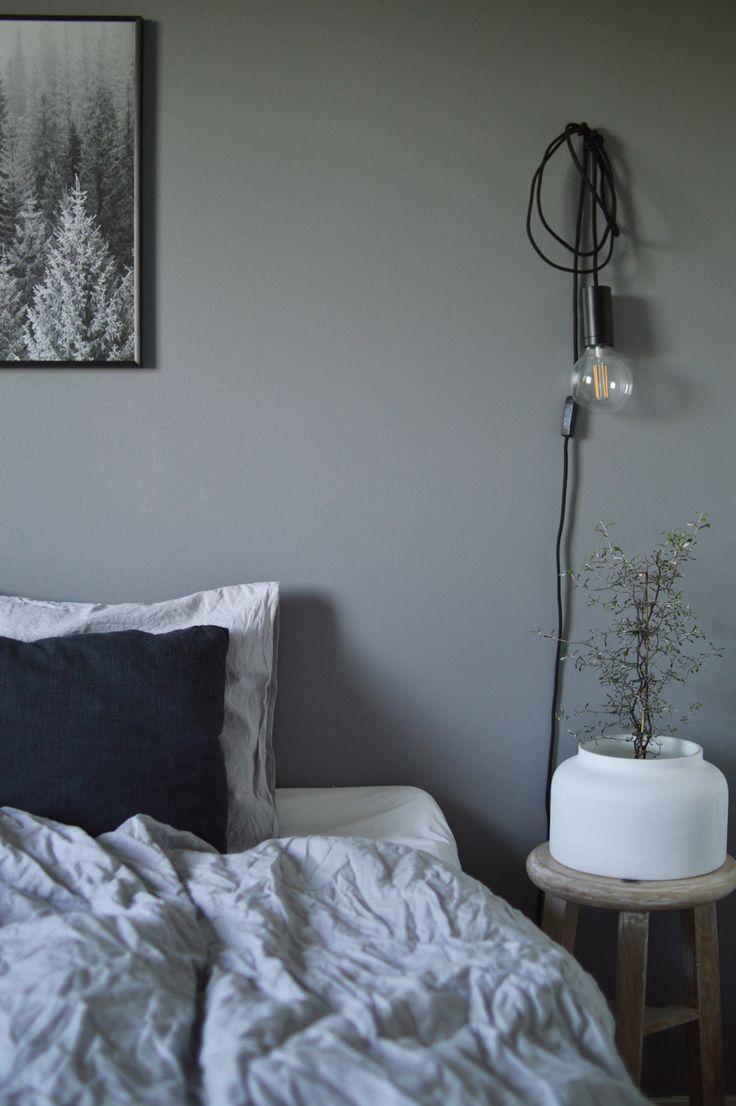 Påslakanset i 100 % linne, färg Light Grey. Kollektion NG Baby Mood. | Källa: Ida Marie Isaksson