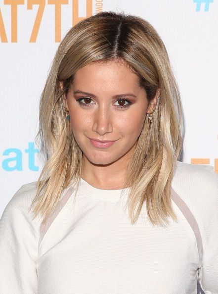 Ashley tisdale brown hair 2018