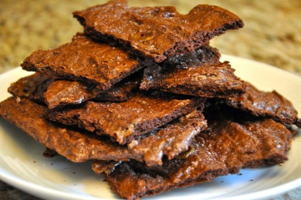Caramel Brownie Brittle Recipe www.college-cooking.com