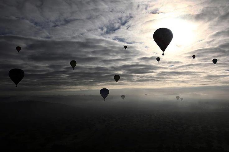 Festival Internacional de Balões de Ar Quente. Alter do Chão - Nuno Veiga Lusa