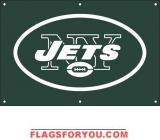 Jets Fan Banner 2ft x 3ft