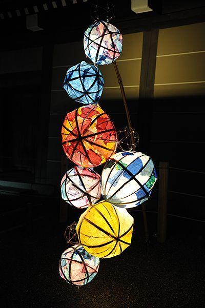 京の七夕 堀川 Horikawa Tanabata Event Decoration, Kyoto, Japan