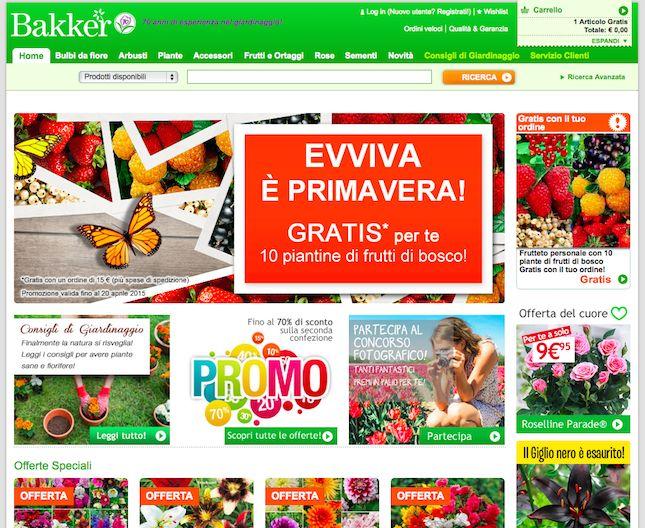 Se vuoi comprare dei bulbi che fioriranno davvero prova su Bakker