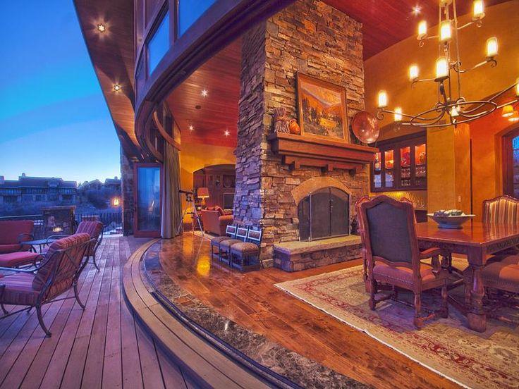 3780 E Rockport Ridge Rd Park City Utah Log Cabin