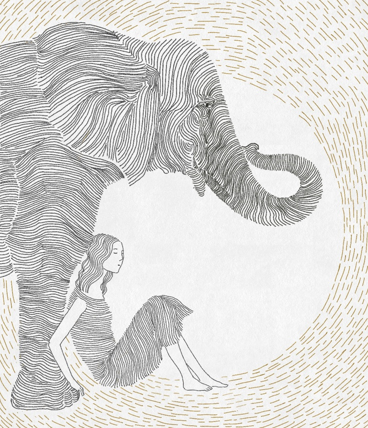 Contour Line Drawing Elephant : Best contour line drawing images on pinterest