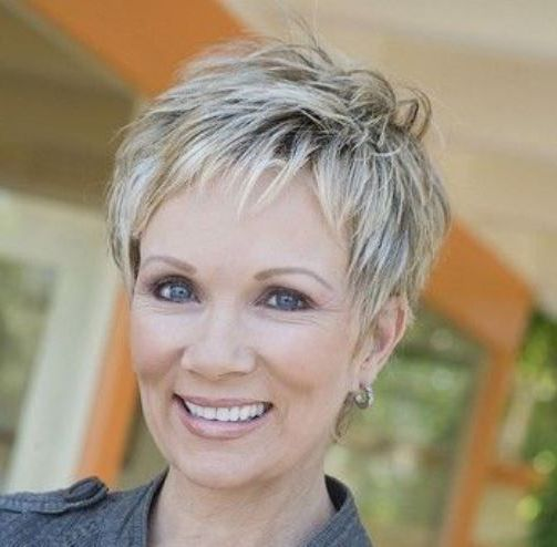 image result for short pixie hairstyles for older women with