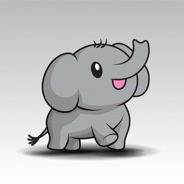 Freepik Graphic Resources For Everyone Cute Baby Elephant Baby Elephant Cartoon Baby Elephant Pictures