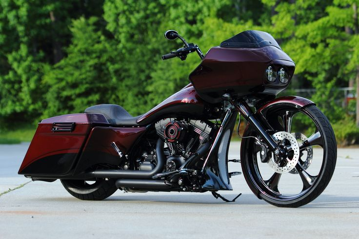 Custom Baggers California | 2013 Harley Davidson Road Glide Custom Bagger – Built For NFL Star ...