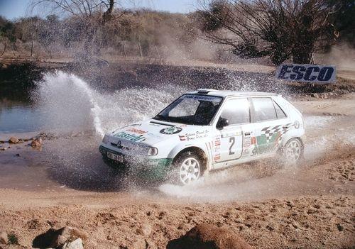 Skoda Felica S1600 rally car